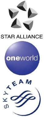 Star Alliance, One World & Skyteam